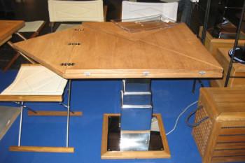 Телесккопически стол