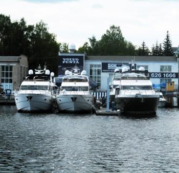 Сервис и ремонт моторных яхт и катеров